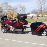 Honda ST red