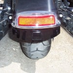 Harley Davidson Black 2009  HD FLH Hitch 1