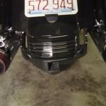 Harley Davidson Street Glide Balck Powder Coat 2008 & Down