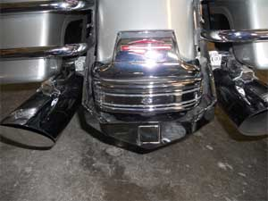 Harley Davidson Chrome 1995-2008 HD FLH Hitch 1