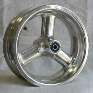 Wheel polished  1