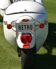 Retro Motorcycle Trailers